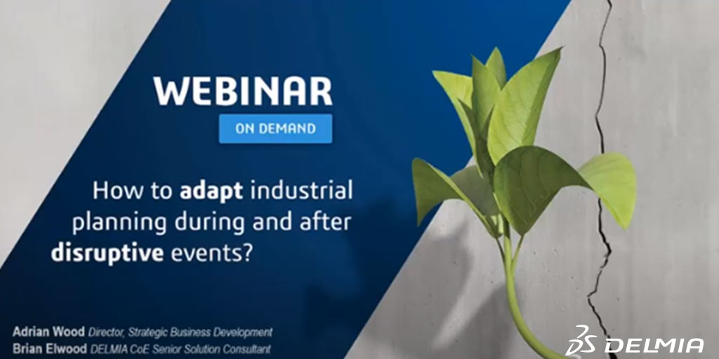 How to adapt industrial planning during and after disruptive events?